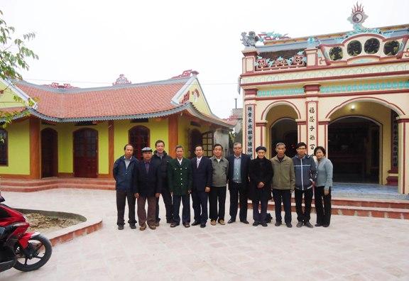 Giao lưu họ Võ Tân Hồng - Đồng Tháp và họ Vũ Vỵ Khê ...