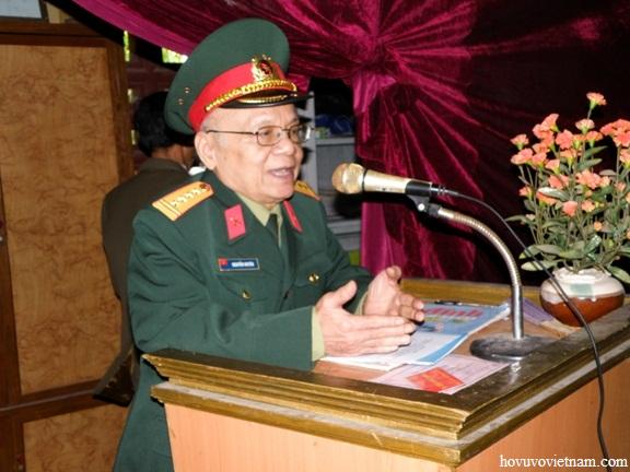 Đại tá Nguyễn Huyên - Bí thư của Đại tướng phát